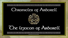 The Lexicon of Arborell
